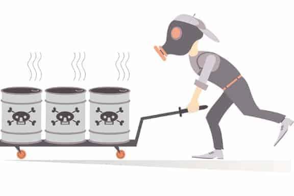 Future Proof Leadership - toxic barrels