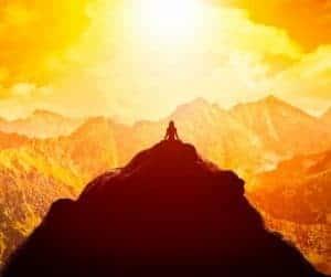 Future Proof Leadership - woman on summit