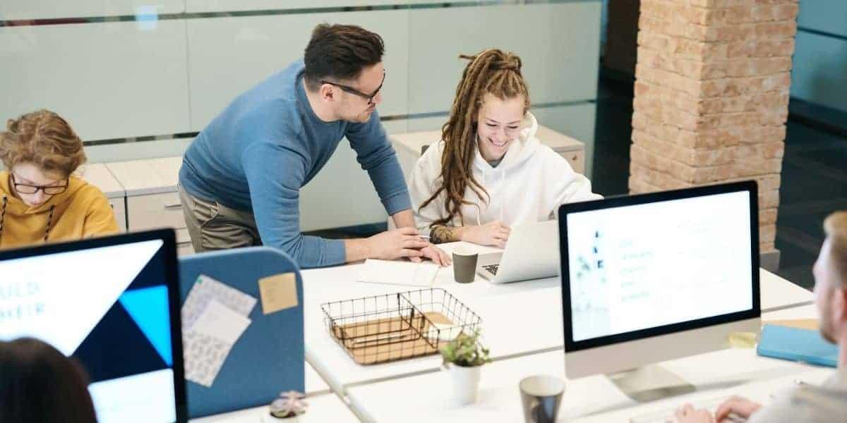 Employee feedback in the office
