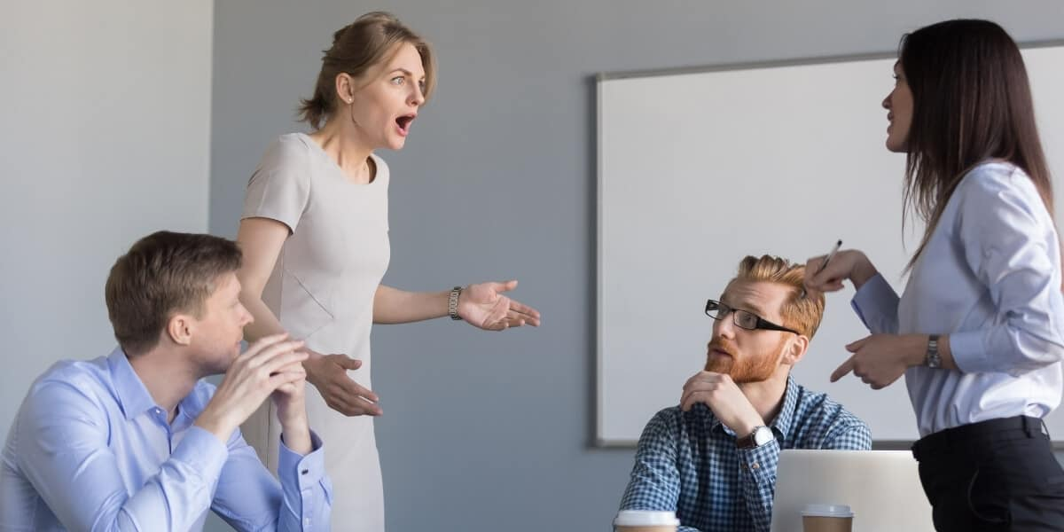 coworkers in conflict