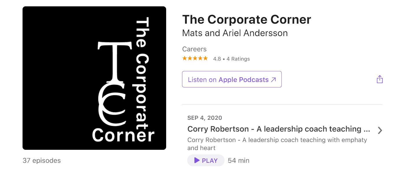 The Corporate Corner Podcast