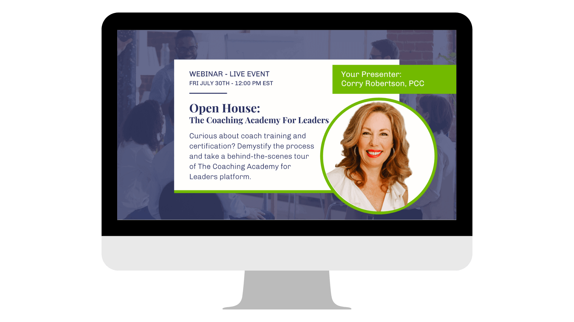 The Coaching Academy For Leaders Open house